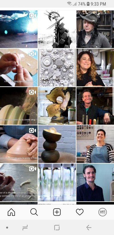 Final Instagram page